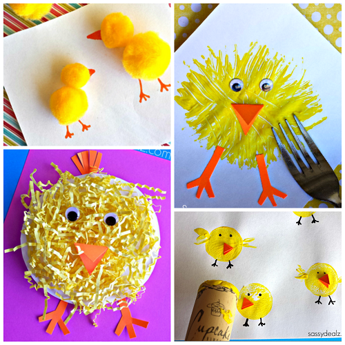 Chicken Craft Ideas For Toddlers