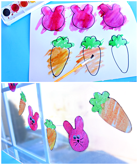 easter-watercolor-garland-craft-for-kids