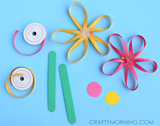 Craft Projects Using Ribbon