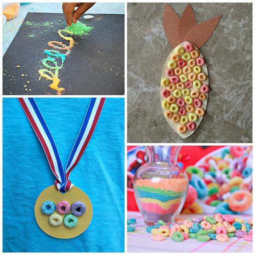 fruit-loop-cereal-crafts-for-kids