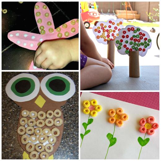 fruit-loop-cheerios-cereal-kids-crafts
