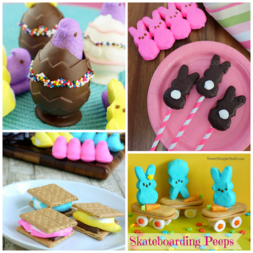 Fun Easter Marshmallow Peeps Treat Ideas