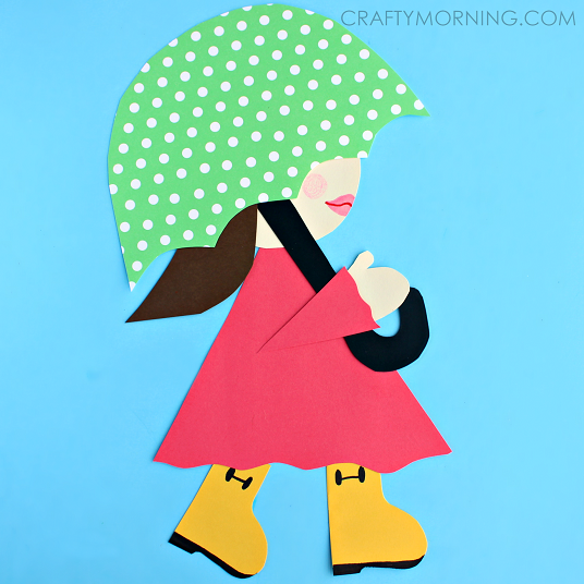girl-in-rainboots-umbrella-kids-spring-craft