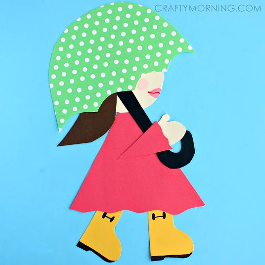 girl-in-rainboots-umbrella-kids-spring-craft