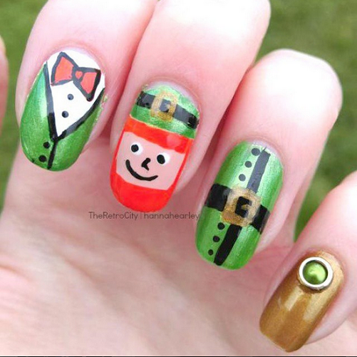 leprechaun-st-patricks-day-nail-idea