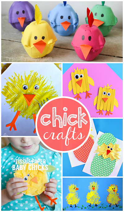 most-adorable-chick-crafts-for-kids-to-make