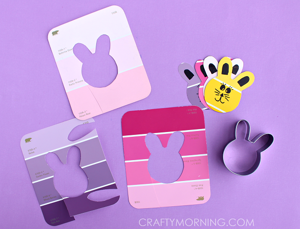 paint-chip-easter-bunny-craft-for-kids