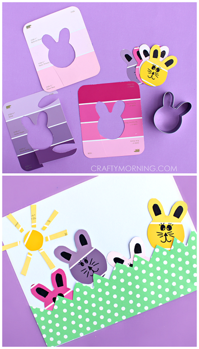 paint-sample-bunny-easter-craft-for-kids