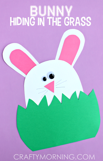 paper-bunny-hiding-in-the-grass-easter-kids-craft