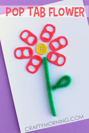pop-tab-flower-card-spring-craft-for-kids