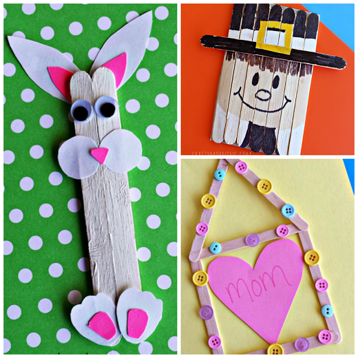 Clever Popsicle Stick Crafts For Kids To Create Crafty Morning