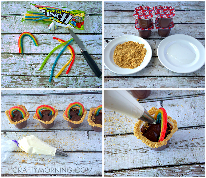 Double Rainbow Pudding Recipes — Dishmaps