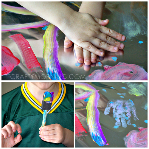 tin-foil-painting-craft-for-kids