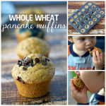 Mini Whole Wheat Pancake Muffins Recipe