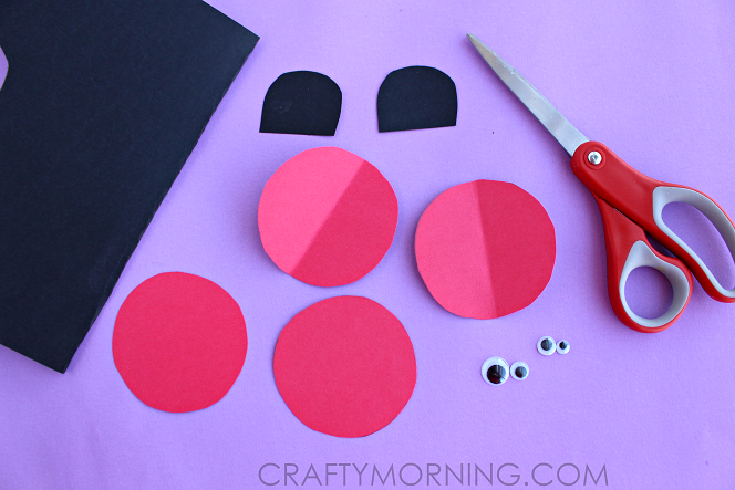 3D-paper-ladybugs-kids-craft-