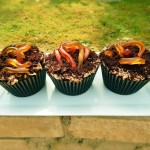How to Make Mud Cupcakes with Worms