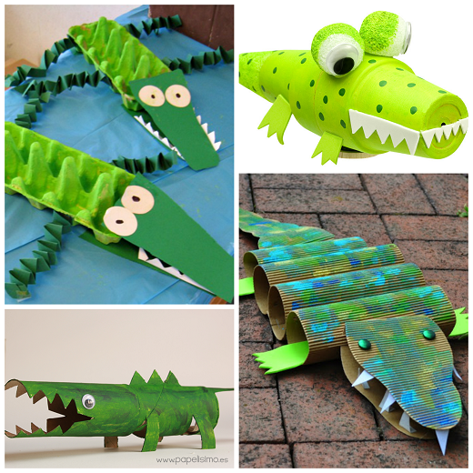 creative alligator amp crocodile crafts for kids   crafty morning