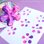 Pretty Flower Crafts for Kids to Make