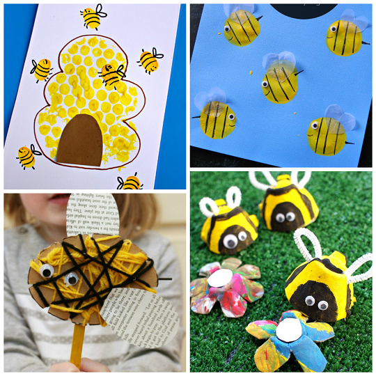 Bees Crafts For Preschoolers