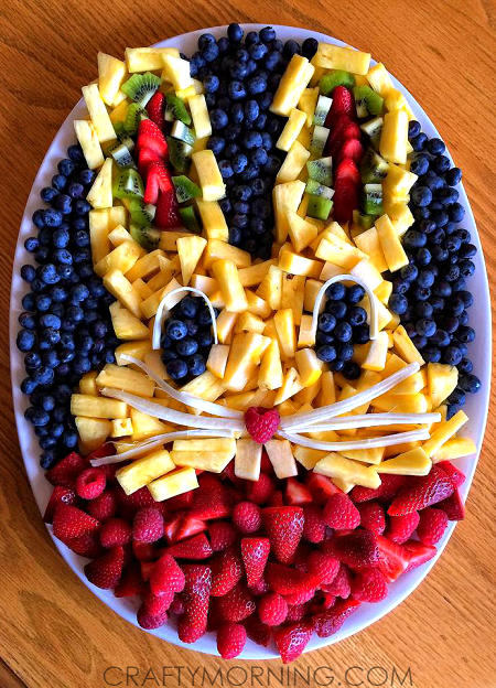 bunny-rabbit-fruit-platter-for-easter