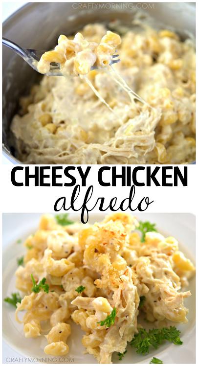 how to make chicken alfredo pasta ingredients