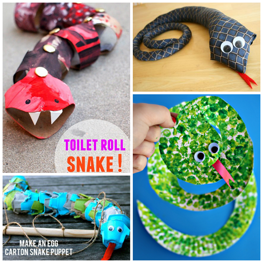 cool crafts for kids the coolest snake crafts for to create crafty morning 10640