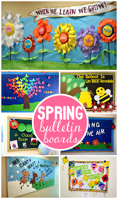 Spring Bulletin Board Ideas For The Classroom Crafty Morning