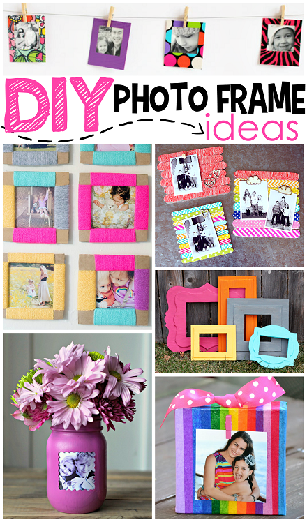 mother's day photo collage idea - DIY Frame Ideas Crafty Morning