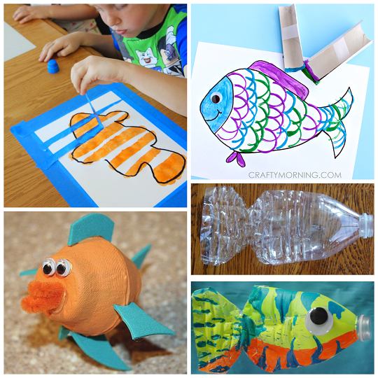 How To Make Fish Crafts For Preschoolers