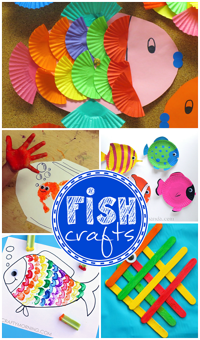 fish crafts for kids to make ocean theme - Pictures Of Crafts For Kids