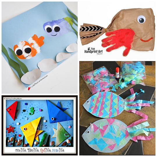 fun fish kids crafts - Pictures Of Crafts For Kids