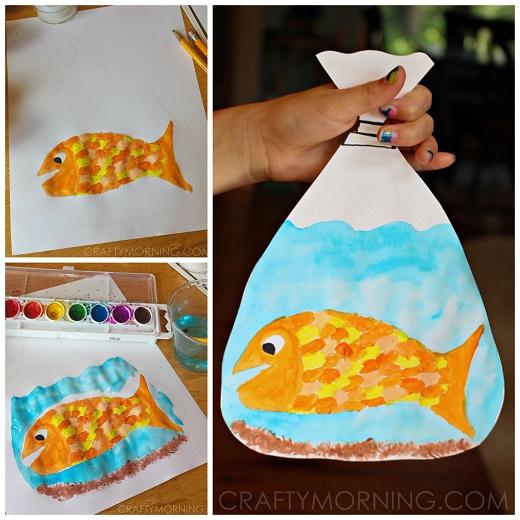 creative little fish crafts for kids crafty morning. Black Bedroom Furniture Sets. Home Design Ideas