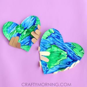 Handprint Earth Day Craft for Kids