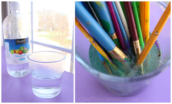 Cleaning Oil Paint Brushes With Dawn