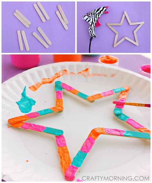 mini-popsicle-stick-star-craft-for-kids