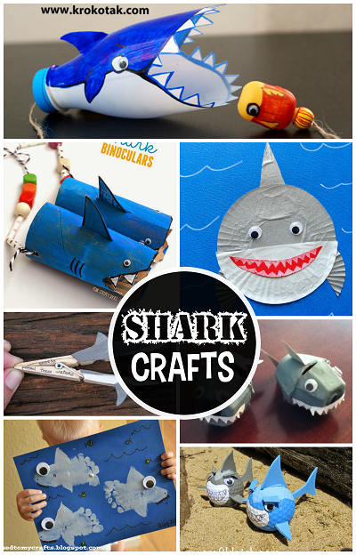 Shark Themed Arts And Crafts
