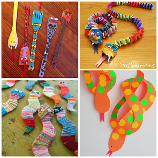 The coolest snake crafts for kids to create crafty morning for Reptile crafts for kids