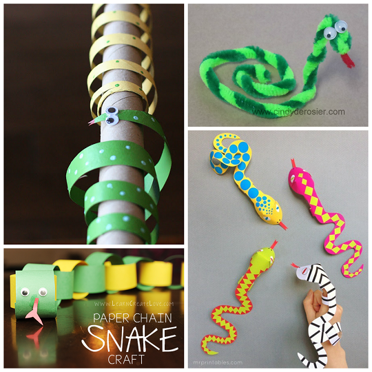 The Coolest Snake Crafts for Kids to Create - Crafty Morning