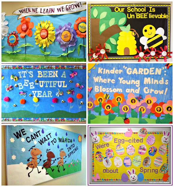 Classroom Ideas Bulletin Boards ~ Spring bulletin board ideas for the classroom crafty morning