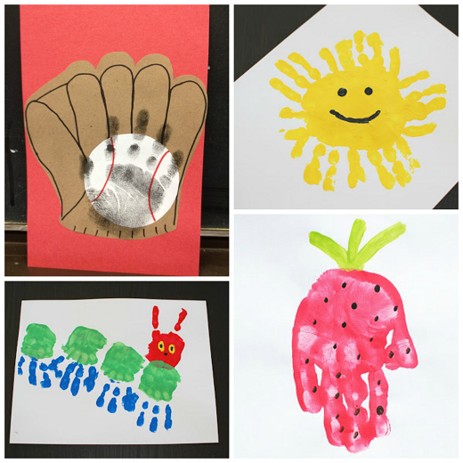 kids handprint craft ideas 1000 images about hungry caterpillar on 4820