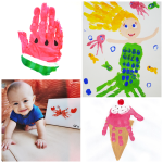 Summer Handprint Crafts for Kids to Make
