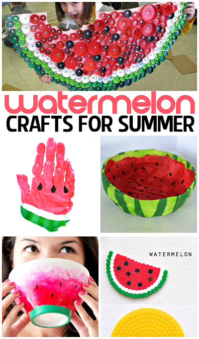 watermelon-crafts-and-diy-projects-for-summer