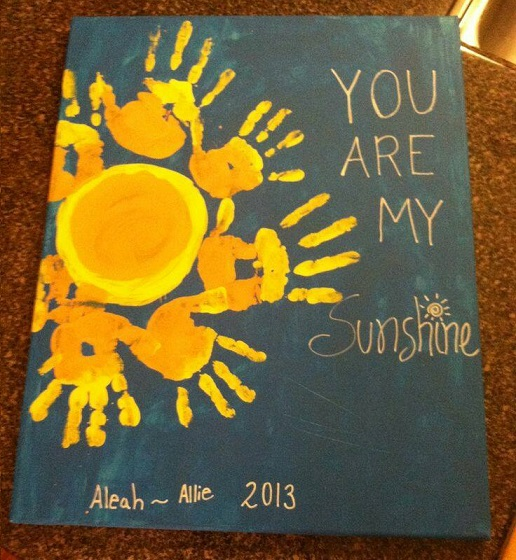 you are my sunshine craft ideas summer handprint crafts for to make crafty morning 7948