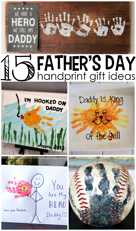 Kid Craft Gift Ideas Part - 29: 15-fathers-day-handprint-crafts-and-gift-ideas-