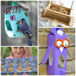 The Coolest Bird Feeders for Kids to Make