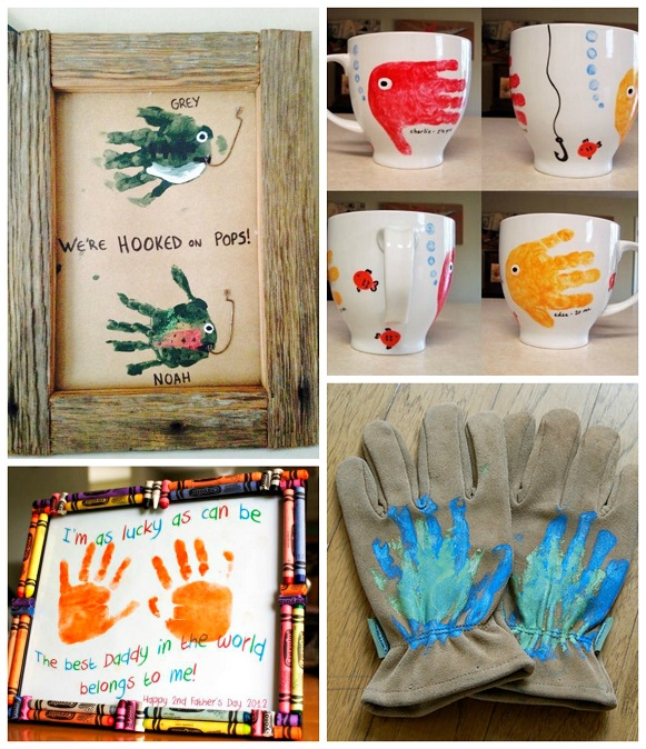 fathers day crafts s day handprint gift ideas from crafty morning 1992