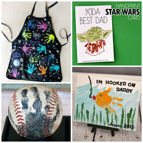 fathers day handprint gift ideas from kids crafty morning