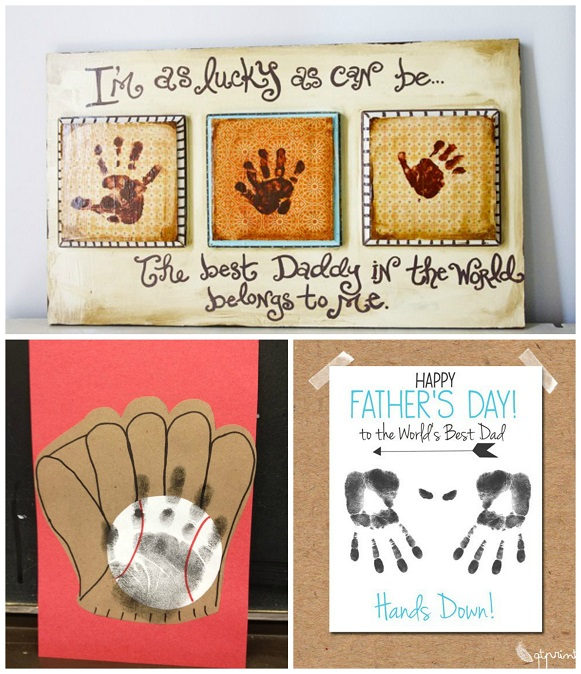 father's day crafts early years