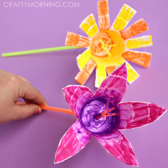 styrofoam-cup-flower-kids-craft-idea-