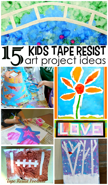tape-resist-art-projects-crafts-for-kids